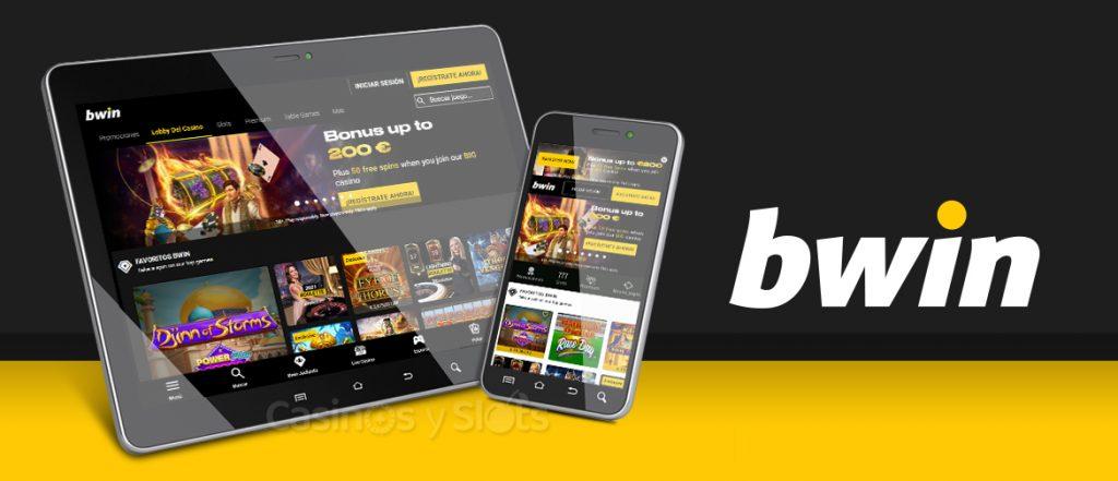bwin Casino disponible en móviles y tabletas
