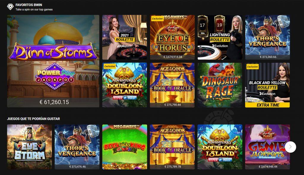los juegos de casino de betfair casino