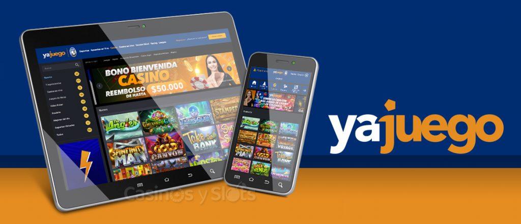 yajuego Casino disponible en móviles y tabletas